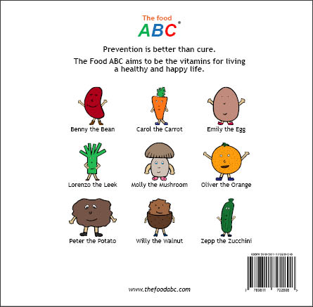 10 Children's Books | Adrian the Apple | The Food ABC 2
