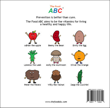 Children's Books | Carol the Carrot | The Food ABC 2