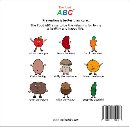 Children's Books | Benny the Bean | The Food ABC 2