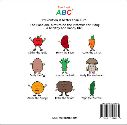 Children's Books | Willy the Walnut | The Food ABC 2