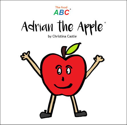 10 Children's Books | Adrian the Apple | The Food ABC 1