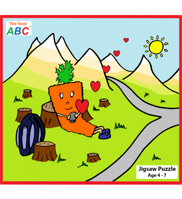 The Food ABC | Jigsaw Puzzle 1
