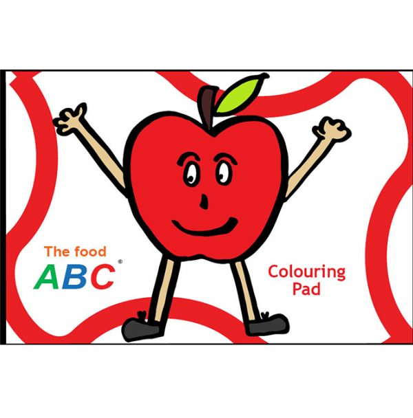 The Food ABC | Colouring Pad 1