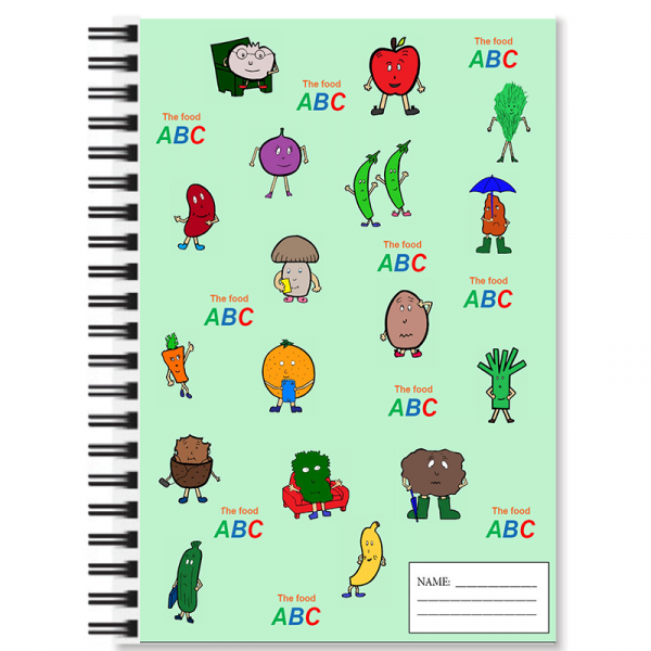 The Food ABC Notebook | Green 3