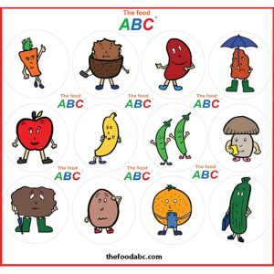 10 Children's Books | Online Store | The Food ABC 25